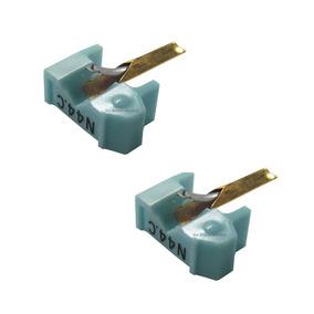 2 Agujas Shure N44-7 Para Fonocaptor Pastilla M44-7generica