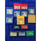 Juegos Gameboy Pokemon Amarillo Azul Rojo Zafiro Dorado