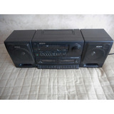 Radiograbadora Doble Cassetera Sony