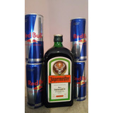 Jagermeister + 4 Unid Red Bull Lata .combo!! Boulogne
