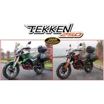 Moto Jawa Tekken 250 Touring 0km 2017 Stock Ya Hasta 19/2