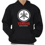 Blusa De Moleton Yamaha Racing Moto Velocidade