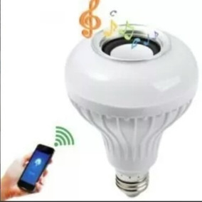 Lampada Com Som Bluetooth Speaker Com Controle Remoto