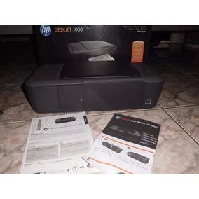 Impresora Hp Deskjet 1000, Con Caja Accesorios Y 2 Cartuchos