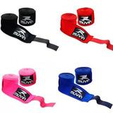 Bandagens Atadura Elastica Muay Thai Boxe Muvin 3 Metros