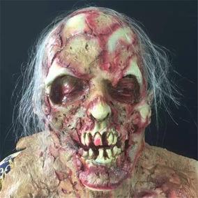 Mascara Latex Zumbi Terror The Walking Dead - Envio Imediato