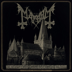 Mayhem - De Mysteriis Dom Sathanas Alive - Cd+dvd
