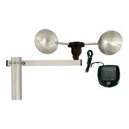 Anemômetro Fixo C/ Velocímetro Digital P/ Estudo Eólico