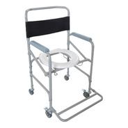 Cadeira Higiênica De Banho Em Aço D40 Dellamed
