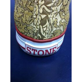Bota Stone Original Lona Tramada Promoción Local Microcentro