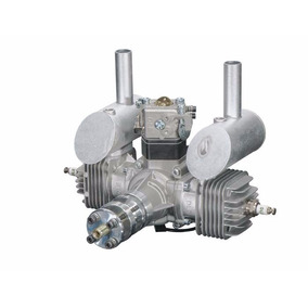 Dle Motor 40cc Twin Gas W/electronic Ignition Dle-40
