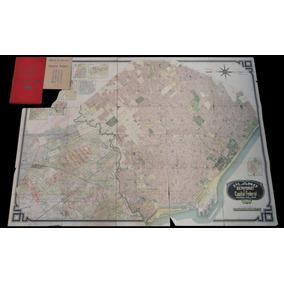 Antiguo Plano Bemporat Capital Federal Con Índice. 41004