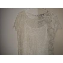 Vestido Branco Reveillon Renda Festa - Forever 21 - Impotad