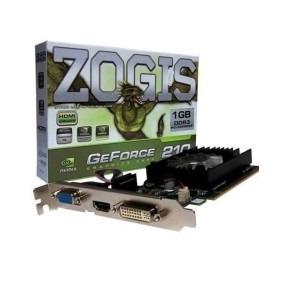 Placa Vga Pci Express Msi / Zogis Geforce 210 1gb Ddr3 64bit