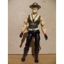 (año 1986 Vintage) Sgt. Slaughter V1 Gi Joe Gijoe Sargento