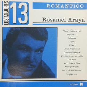 Rosamel Araya Cd Romantico Sus Exitos