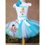 Fantasia Roupa Infantil Aniversário Cinderela Luxo