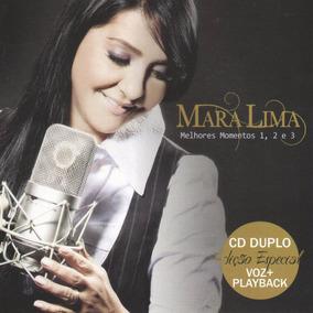 Cd Mara Lima - Melhores Momentos 1, 2 E 3 Cd Duplo Voz + Pb