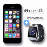 Iphone 5s 32gb 4g Lte Factura Y Garantía + Smartwatch D9