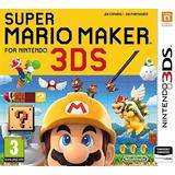 Juego Digital 3ds Super Mario Maker 3ds Super Promo Mario M