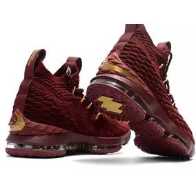Tênis Nike Lebron James 15 Original Red Escuro Lançamento
