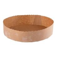 Molde Bizcochuelo 20 Cm X 100u Descartable Papel Para Torta