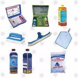 Kit Completo Para Limpeza E Manutenção De Piscinas