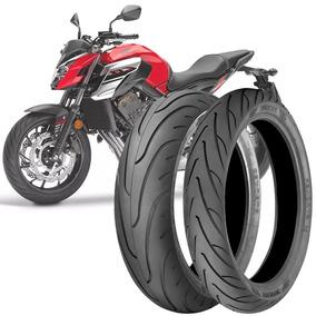 2 Pneu Moto Cb650f Technic 180/55-17 73v 120/70-17 58v Strok