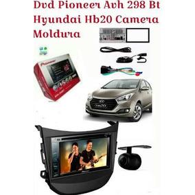 Dvd Pioneer Avh298bt Hyundai Hb20 Camera E Moldura Brinde