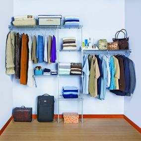 Basic Closet Rejiplas 10370 Organizador De Espacio Blanco