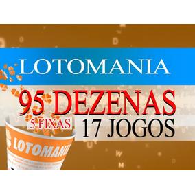 Lotomania 95 Dezenas Com 5 Fixas