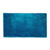 Tapete De Ingreso Shag Azul .90x.50m