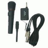 Microfono Inalambrico/cableado B371