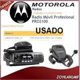 Radio Móvil Transmisor Motorola Radio Móvil Pro3100 4 Can