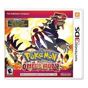 Nintendo Pokemon Omega Ruby 3ds