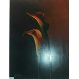 Arte Cuadro 60x80, Calas, Acrilico