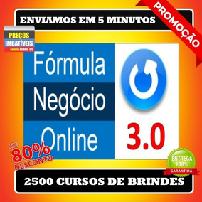 Formula Negócio Online 3.0- Alex Vargas+ 2500 Brindes