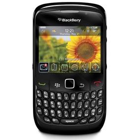 Teléfono Desbloqueado Blackberry 8520 Con 2 Mp Cámara, Blue