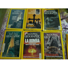 Revistas National Geographic Ingles Y Español