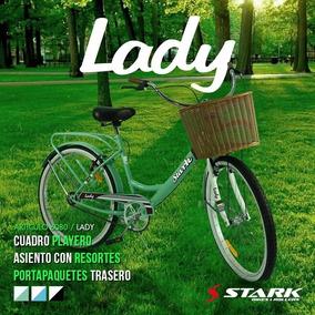 Bicicleta Stark Rodado 26 Lady Paseo Negra