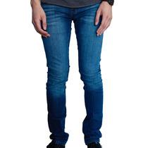 Pantalón Indigo Deslavado Slim Fit