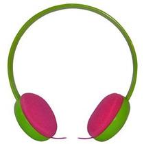 Fonestar Audifonos Estereo Hi-fi Verde/rosa Diadema Fa598ve