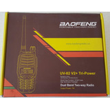 Radio Baofeng Uv 82 V2+ Tri Power