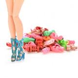 Sapatinhos Da Boneca Barbie 15 Pares Pronta Entrega Frete Gr