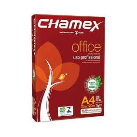 Papel A4 Chamex 210 X 297 Mm 500 Folhas
