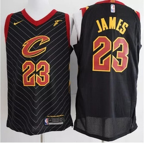 8188f4b1a Camiseta Nba Cleveland Cavaliers N23 Lebron James