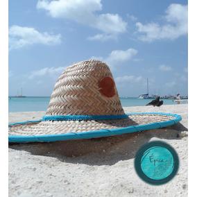 Sombrero Moriches Tapa Grande Comor Azul Marca Epica 5cbf21b7823