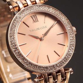Reloj Dama Elegante Taylor Cole Oferta + Envio Gratis