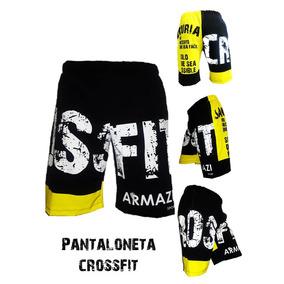 Pantaloneta Crossfit Deporte Ejercicio Gym Fitness Gimnasio