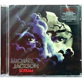 Cd Michael Jackson - Scream (2017) Lacrado